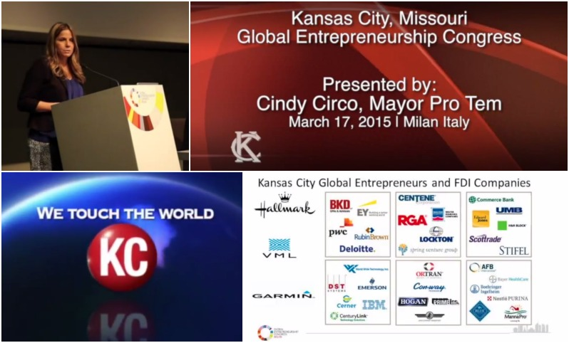 Kansas City: The Only U.S. City Recognized at the Global Entrepreneurial Congress In Italy