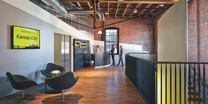 Historic Building Showcase: The Sprint Accelerator/Studio Building