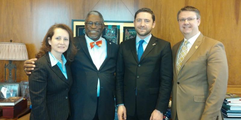 Consul General of Ireland Visits Kansas City, MO